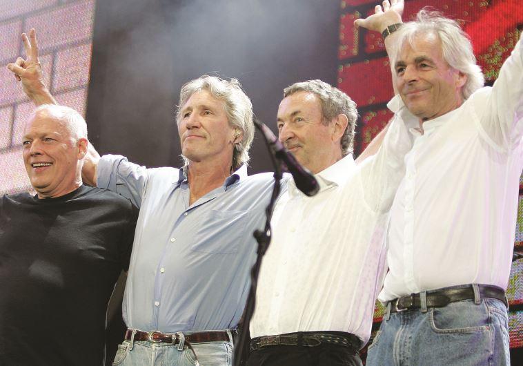 מאז ווטרס וגילמור לא דיברו אפילו פעם אחת. מופע האיחוד ב־Live 8, 2005 צילום: רויטרס