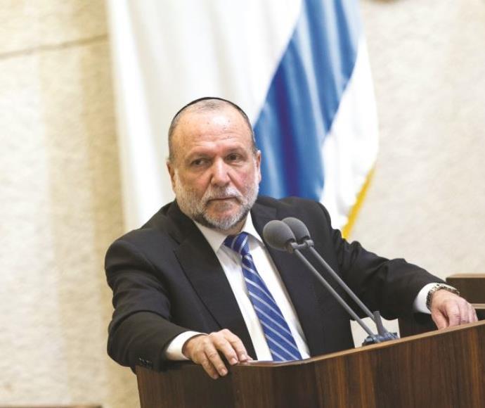 סגן שר האוצר איציק כהן