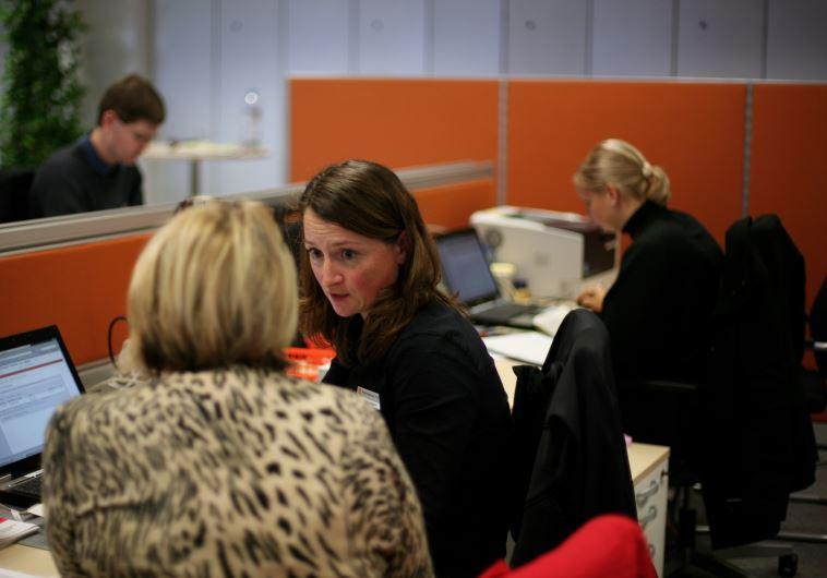 נשים בעבודה. צילום: גטי אימג'ז