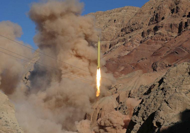 קשר לתוכנית הצפון קוריאנית. ניסוי טילים איראני, צילום: רויטרס