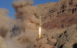 טיל בליסטי ששיגרה איראן