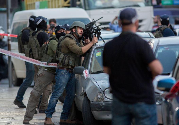 זירת פיגוע בירושלים