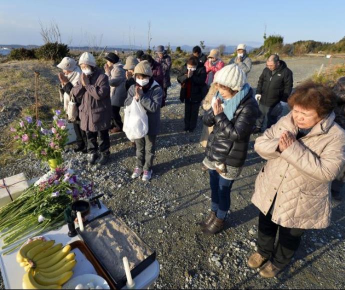 אזכרה לקורבנות אסון פוקושימה, מחוז פוקושימה