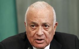 """מזכ""""ל הליגה הערבית נביל אל ערבי"""