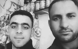 המחבלים שביצעו פיגוע ירי בקרית ארבע, ק'אסם פריד אבו עודה ואמיר פואד אלג'נידי מחברון