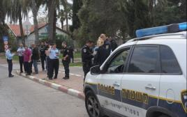 מצוד אחר חשוד בדקירת חייל בתל אביב