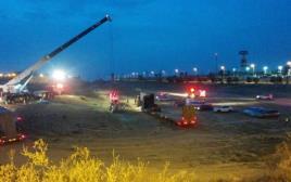 תאונת רכבת המשא בדימונה