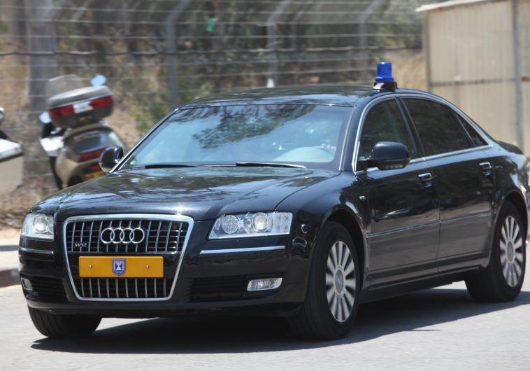 רכב השרד של ראש הממשלה. עולה הון תועפות. צילום ארכיון: יוסי אלוני