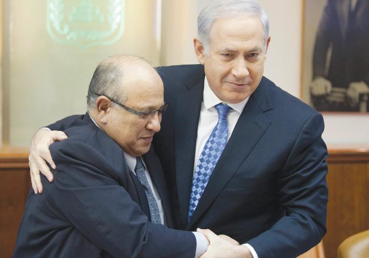 דגן עם ראש הממשלה נתניהו. צילום: אמיל סלמן, פלאש 90