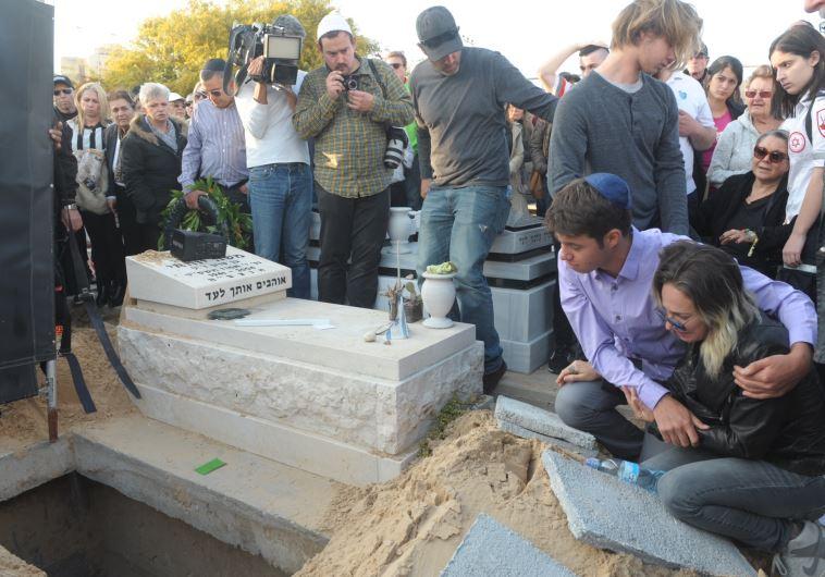 הלווייתו של אברהם גולדמן. צילום: אבשלום ששוני