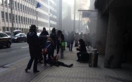 פיצוץ במטרו בבריסל
