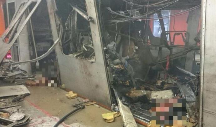הפיגוע ברכבת המטרו בבריסל
