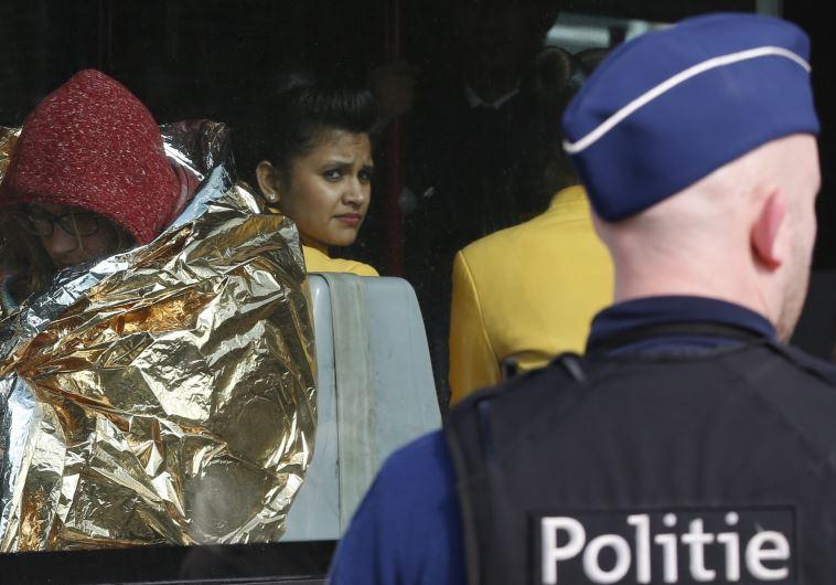 מתקפת טרור בבלגיה. צילום: רויטרס