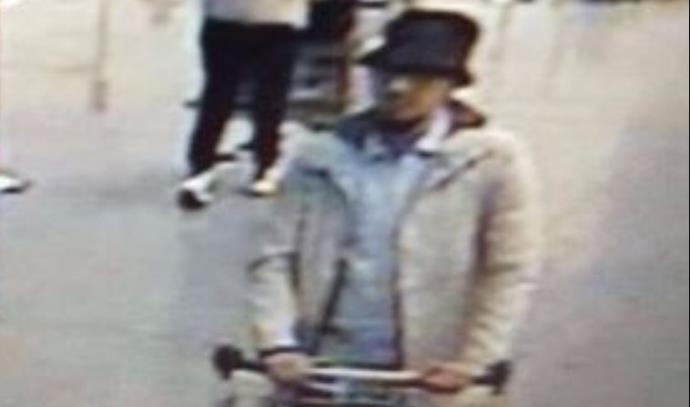 המחבל שנמלט מזירת הפיגוע בבריסל