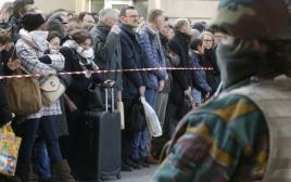 הרכבת התחתית בבריסל לאחר מתקפת הטרור