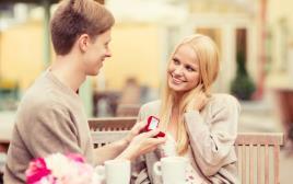 הצעת נישואים, אילוסטרציה