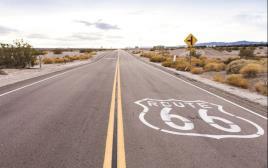 דרך המלך לחצות את המדינה. כביש 66