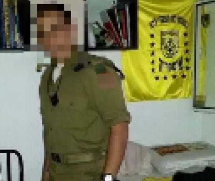 החייל החשוד ברצח המחבל, מתוך הודעת לה פמיליה