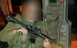 החייל שירה למוות במחבל בחברון