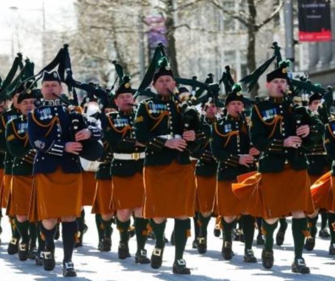 חגיגות באירלנד לציון מאה שנים למרד חג הפסחא