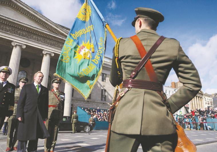 """""""זה יום נפלא להיות אירי"""". ראש ממשלת אירלנד אנדה קני. צילום: באדיבות ממשלת אירלנד"""