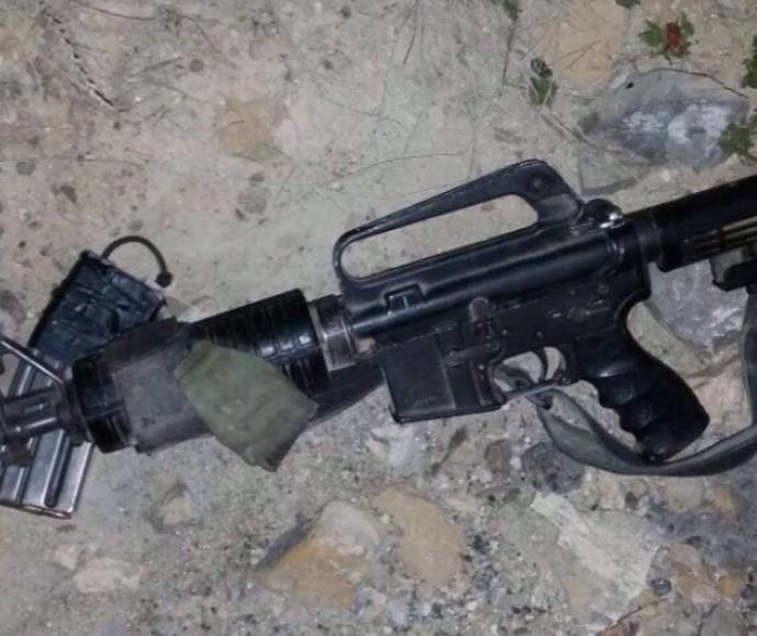 """נשק שנגנב מחייל צה""""ל (אילוסטרציה)"""