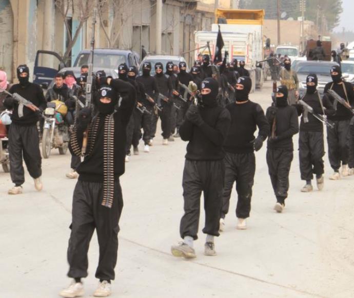 לוחמי דאעש בסוריה