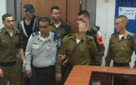 החייל החשוד ברצח בבית הדין הצבאי
