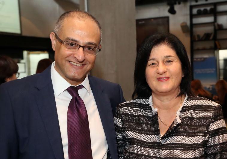 סמדר ברבר צדיק ודוד מימון (צילום: סיון פרג')