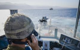 חיל הים מתרגל חטיפת ספינת נופש