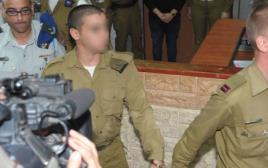 החייל מובא לדיון בעניין הארכת מעצרו
