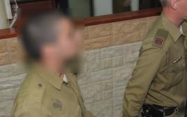 החייל החשוד בהריגה של מחבל מובא להארכת מעצר