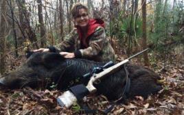 שרה פיילין וחזיר הבר שצדה