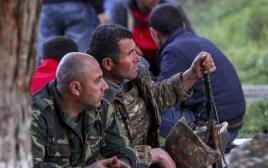 חיילים ארמנים בחבל נגורנו - קראבך