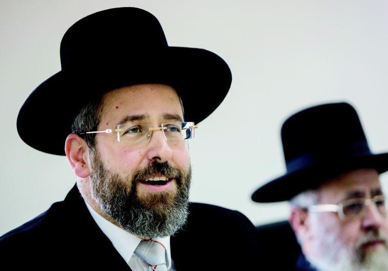 הרב דוד לאו. צילום: יונתן זינדל, פלאש 90