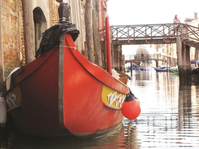 הגטו היה מוקף בהן. תעלות בוונציה. צילום: תלמה אדמון