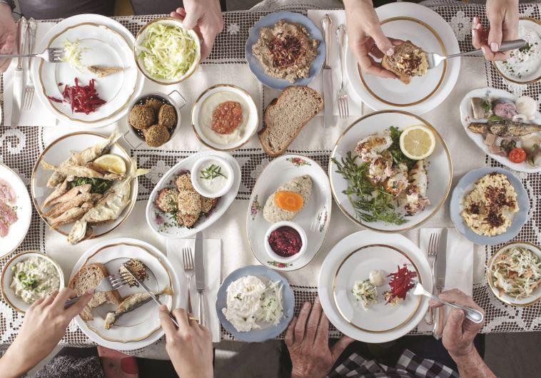 התנחמנו במנות הפתיחה המסורתיות. מסעדת שקד. צילום: אנטולי מיכאלו