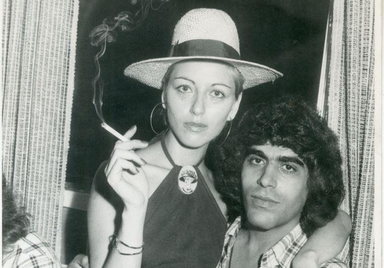 גבי שושן ואשתו מירי ב-1978. צילום: ישמח יצחק