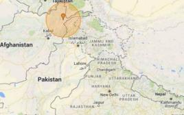 רעידת האדמה באזור הודו