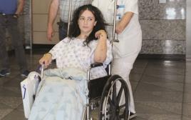 ורה קפלן, הפצועה בתאונה ברמת אביב