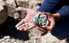 נתגלו שרידי כבשנים שייצרו זכוכית במאה ה-4