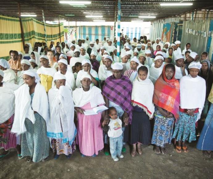 בני הפלאשמורה באתיופיה