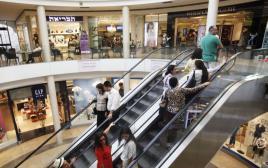 חנויות בקניון. צילום אילוסטרציה