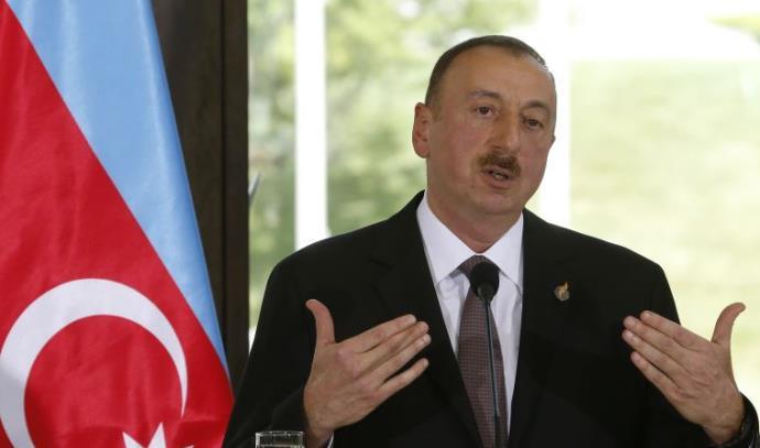 אילהם אלייב, נשיא אזרבאייג'ן