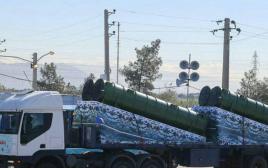 חלקי מערכת S300 שהגיעו מסוריה לאיראן