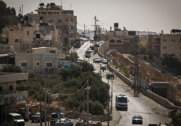 לוותר הישגי מלחמת ששת הימי. שכונת ג'אבל מוכבר בירושלים. צילום: פלאש 90