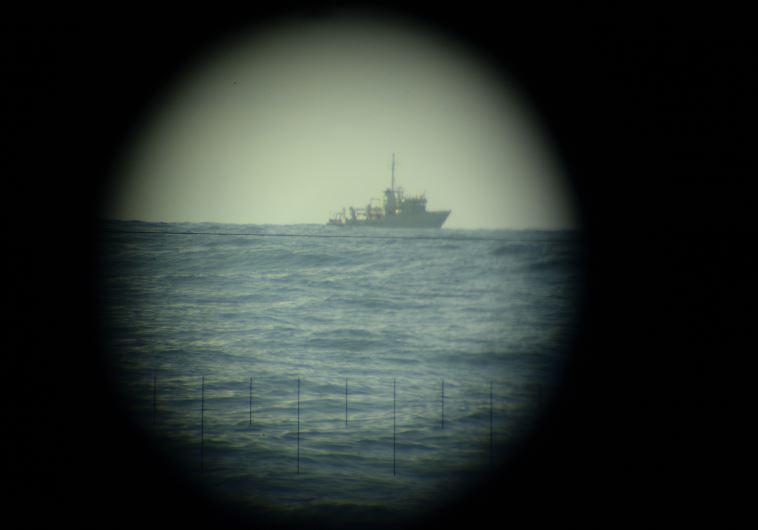 """לאסוף מידע במרחק רב יותר. הפלגה עם הצוללת אח""""י רהב. צילום: דובר צה""""ל"""