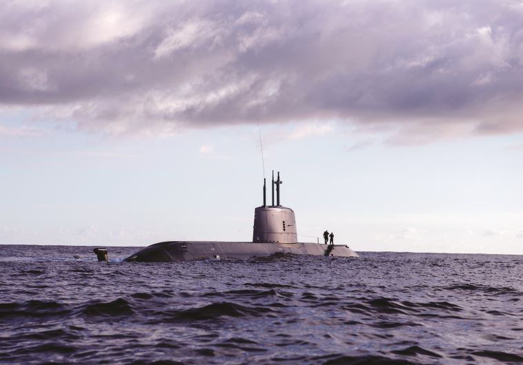 """אופציית תקיפה חשאית. הפלגה עם הצוללת אח""""י רהב. צילום: דובר צה""""ל"""
