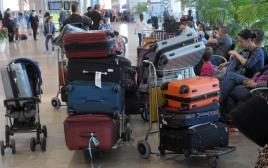 טסים לחופשה, נמל תעופה בן גוריון