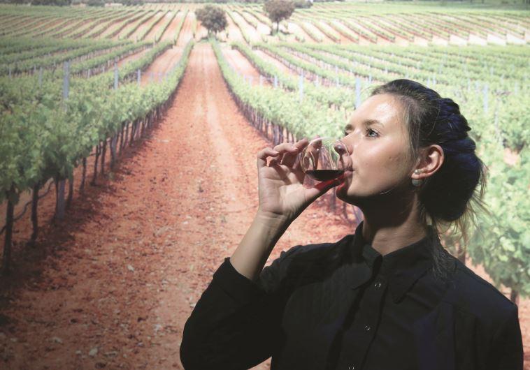 תערוכת יין קשר בבנייני האומה. צילוםף מירי צחי